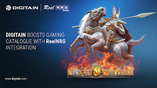 Digitain boosts gaming catalogue with ReelNRG integration